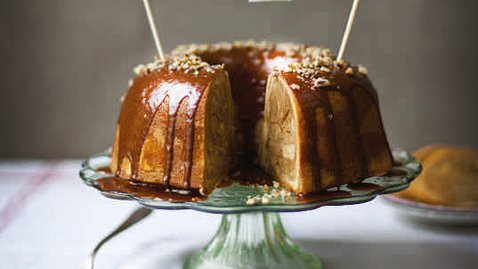 Cinnamon Swirl Bundt Coffee Cake . ...