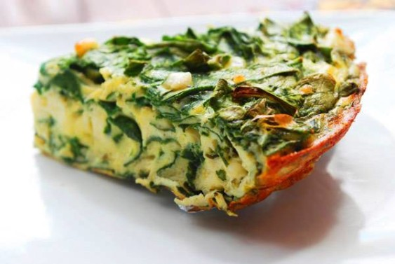 spinach and feta cheese frittata roasted potato and spinach frittata ...